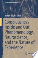 Consciousness Inside And Out Phenomenology Neuroscience And The Nature Of Experience Book