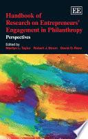 Handbook Of Research On Entrepreneurs Engagement In Philanthropy