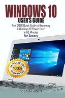 Windows 10 User S Guide