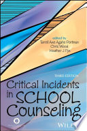 Critical Incidents in School Counseling Book
