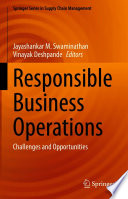Responsible Business Operations