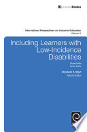 Including Learners with Low Incidence Disabilities