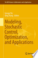 Modeling  Stochastic Control  Optimization  and Applications Book