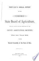 Annual Report of the Ohio State Board of Agriculture Book PDF