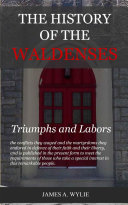 The History of the Waldenses Pdf/ePub eBook