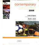 Contemporary Marketing 2006