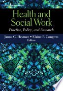 Health And Social Work Book PDF