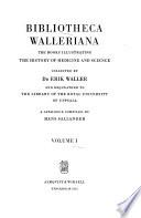 Acta bibliothecae R. universitatis Upsaliensis