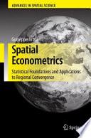 Spatial Econometrics