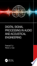 Digital Signal Processing in Audio and Acoustical Engineering Book