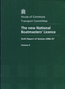 The new National Boatmasters  Licence