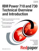 IBM Power 710 and 730  8231 E1C  8231 E2C  Technical Overview and Introduction