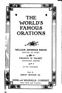 The World's Famous Orations