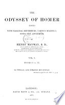 The Odyssey of Homer  Books I to VI
