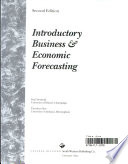 Introductory business & economic forecasting