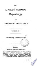 The Sunday School Repository Or Teachers Magazine