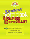 Random House Webster s Student Notebook Spanish Dictionary