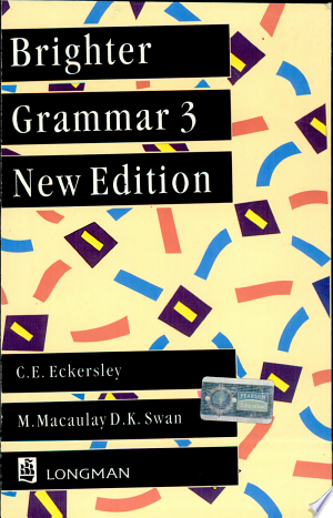 Download Brighter Grammar 3, 2/E Free Books - Dlebooks.net