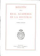 Boletin de la Real Academia de la Historia. TOMO CLXXVII. NUMERO I. AÑO 1980