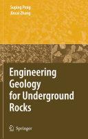 Engineering Geology for Underground Rocks [Pdf/ePub] eBook