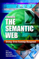 Towards the Semantic Web
