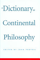 A Dictionary of Continental Philosophy