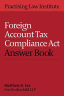 Foreign Account Tax Compliance Act Answer
