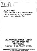 AIAA AHS ASEE Aircraft Design  Systems and Operations Meeting