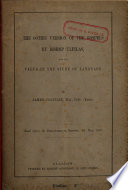 The Gothic version of the Gospels by Bishop Ulfilas, and its value in the study of language