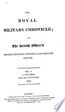 The Royal Military Chronicle Book PDF