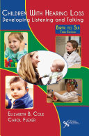 Children With Hearing Loss Book PDF