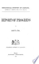 Report of Progress   Geological Survey of Canada