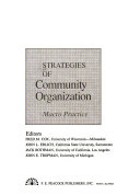 Strategies of Community Organization