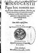 Innocentii Papae hoc nomine tertij, De sacro altaris mysterio, libri sex ebook