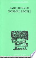 Emotions of Normal People Pdf/ePub eBook