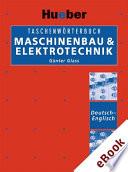 Taschenw Rterbuch Maschinenbau Elektrotechnik Deutsch Englisch