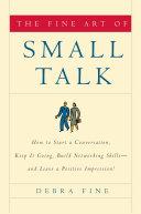 The Fine Art of Small Talk Pdf/ePub eBook