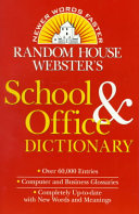 Random House Webster s School   Office Dictionary