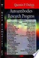 Autoantibodies Research Progress Book PDF