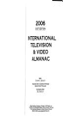 International Television   Video Almanac