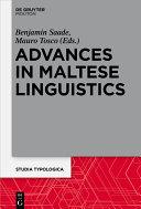 Pdf Advances in Maltese Linguistics Telecharger