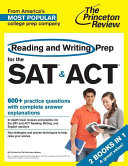 Reading and Writing Prep for the SAT   ACT