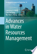 Advances in Water Resources Management Book