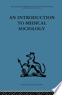 An Introduction To Medical Sociology PDF