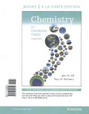 Chemistry for Changing Times  Books a la Carte Edition  and Modified Masteringchemistry with Pearson Etext    Valuepack Access Card    For Chemistry F Book