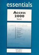 Access 2000 Essentials Basic