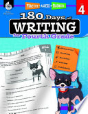 180 Days Of Writing For Fourth Grade Practice Assess Diagnose