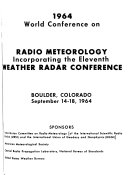 Proceedings of the     Weather Radar Conference