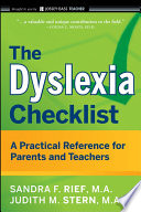 The Dyslexia Checklist Book