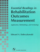 Essential Readings in Rehabilitation Outcomes Measurement
